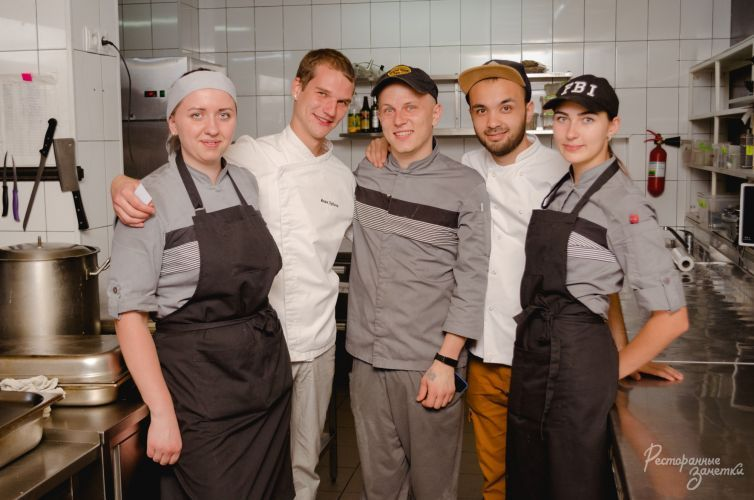 Шеф-повар Иван Зубков в очередном ужине от проекта 13 Шефов