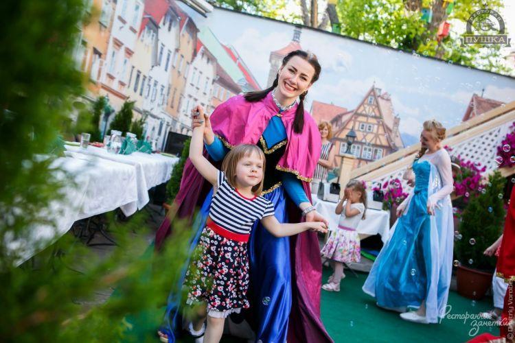 фотоотчёт ресторана Пушка - День защиты детей. 1 июня 2017г.
