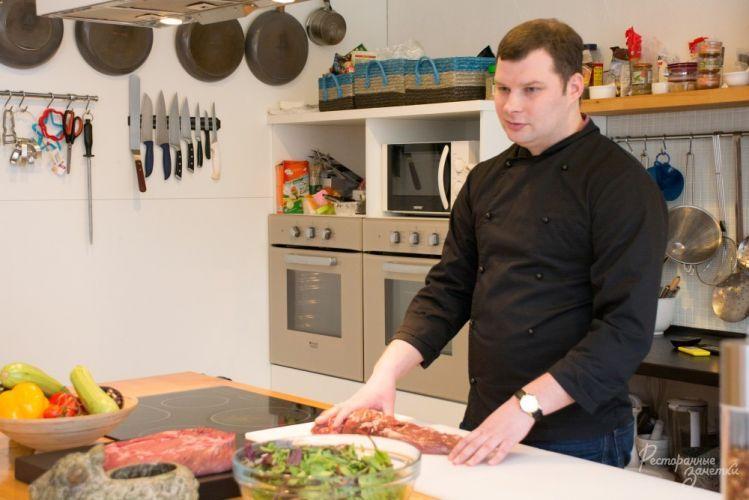 Мастер класс для повара в москве