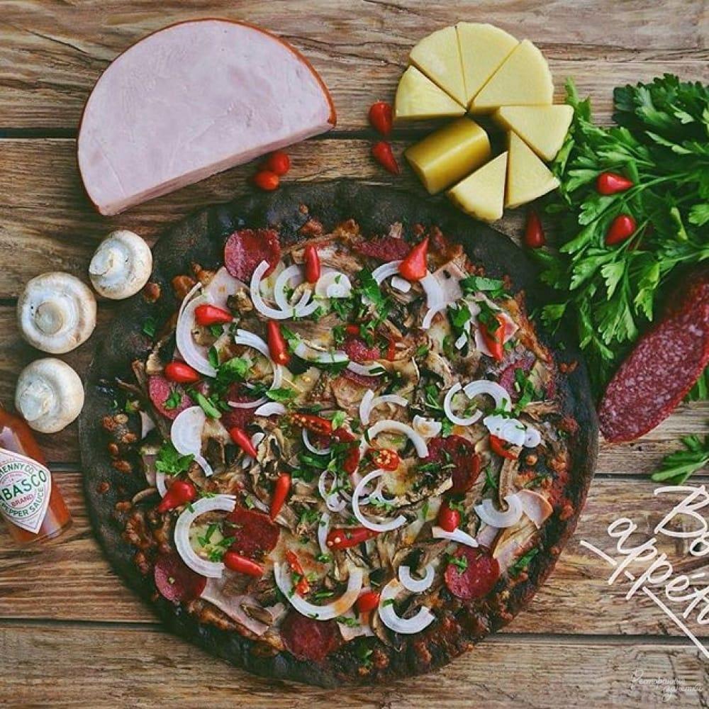 Служба доставки NeroPizza Служба доставки черной пиццы, Харьков
