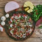 Служба доставки NeroPizza Служба доставки черной пиццы Харьков